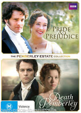 PRIDE & PREJUDICE / DEATH Comes To PEMBERLEY DVD TV MINI-SERIES BRAND NEW BOX R4