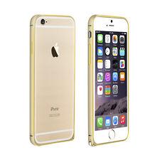 """Bumper Metal Case Schutzhülle für iPhone 6 & 6S 4.7"""" in Gold Gelb"""