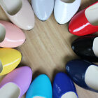 Womens Candy Color Boat Shoes Casual Ballet Slip On Flats Loafers Single Shoes