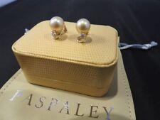 Diamond Yellow Gold Not Enhanced Fine Earrings