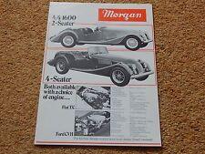 Morgan 4/4 & Plus Eight UK sales brochure - 1982