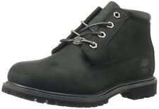 Timberland Women's Nellie Double Waterproof Ankle Boot Size 10 Color Black On Bl