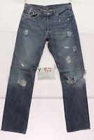 Levi's 501 jeans d'occassion (Cod.Y87) Tg.47 W33 L34 vintage jeans