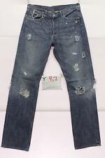Levi's 501 jeans usato (Cod.Y87) Tg.47 W33 L34 vintage jeans