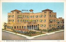 Wildwood By The Sea New Jersey 1930 Postcard Seville Hotel