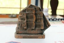U.S.S. Constitution Piggy Bank - Brass/Cast Metal