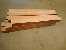 12 x Hartholzleisten 3 x 3 x 40 cm Basteln Bauen Hobby vermutlich Buche