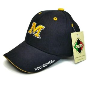 Michigan Wolverines Creation Of Demand C.O.D Youth Kids Size HAT New With Tags