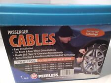 "Peerless Winter Track Passenger Car Tire Cables 0172555 14"" 15"" & 16 inch Rims"