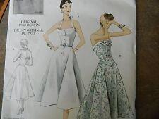 Vogue Pattern V2961 Size AAX Vintage Original 1953 Design Size 4-10