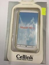 HTC 7 Mozart,T8697,HD3 TPU Case Cover Clear TPU5380-101. Brand New in packaging.