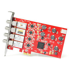 TBS6904 DVB-S S2 Quad Tuner PCIe Card for Watching and Recording on PC