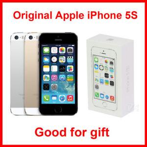 A pple i Phone 5S 16GB 32GB 64B Space Gray White/Silver Gold unlocked Sim Free
