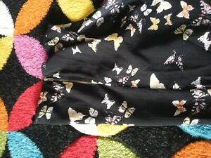 Black butterfly maternity top size 10 New Look