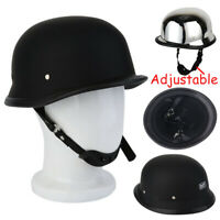 M/L/XL Motorcycle Safety Helmet DOT Helmet German Half Helmet Light Black Brand