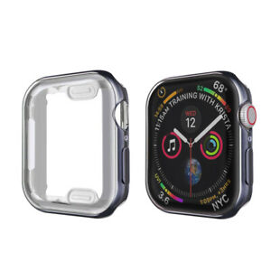 For iWatch Apple Watch Series SE 6 5 4 3 Screen Protector TPU Case 38/40/42/44mm
