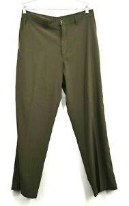 Patagonia Men's Size 34 Stretch Polyester Green Outdoor Hiking Camping Pants
