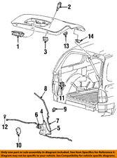 FORD OEM 95-03 Windstar Liftgate Tailgate Hatch-Link F58Z16431A78A