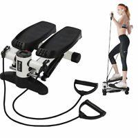 Premium Portable Climber Stair Stepper Waist Fitness Twister Step Machine + LCD