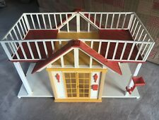 VINTAGE 1982 Mattel BARBIE Doll Dream Cottage House Dollhouse Folding 4432-0920