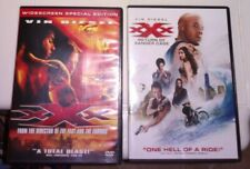 xXx Lot Of 2 Dvds Vin Diesel With Return Of Xander Cage