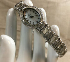 Bulova Accutron Women's S/S Crystal Accents Mother of Pearl Dial Watch [MH15]