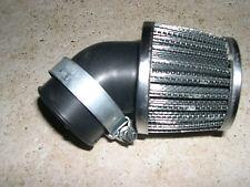 Chrome offset air Filter  universal  Honda MR50 SL70 XL70 CL70 C70 st90 and ct90