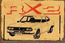 RX 2 Rotary metal sign 20 x 30 cm free postage
