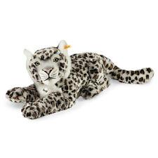 STEIFF Paddy Snow Leopard EAN 061684 42cm Light grey Child gift plush toy New