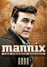 MANNIX THE FOURTH SEASON 4 MIKE CONNORS NEW SEALED 6-DICS SET DVD FREE SHIPPING