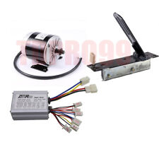 24V 350W Electric Brush Motor + Speed Controller +Foot  Pedal fo Scooter E-Bike