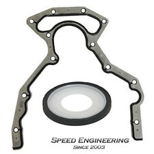 LS Rear Cover Plate Gasket & Rear Main Seal (GM LS1, LS2, LS3, LS6)