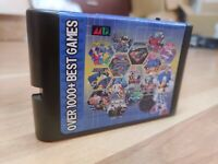 Super 1000 in 1 Sega Genesis & Mega Drive Multi Cart 16-Bit Video Game Cartridge