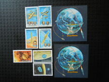 G394     CAMBODIA 1984  SPACE   S/S  SHEET MNH +  SET+S/S  CTO