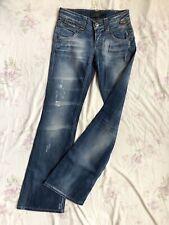 ONLY Auto BC Stacy Damen Blue Jeans Stretch W26/L34 x-low waist slim fit bootcut