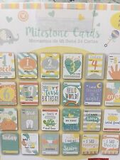 MILESTONE BABY CARDS FOR BABY SHOWER BABY/TODDLER/CHILD GIFT CHRISTENING