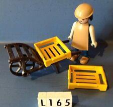 (L165) playmobil livreur médiéval ref 3369 ref 3379 3374 3372 3377 3378 3371