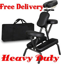heavy duty Commercial Massage Chair Leather Tattoo Spa portable Carrying Bag pro