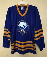 BUFFALO SABRES ICE HOCKEY VINTAGE JERSEY CCM SHIRT NHL ADULT