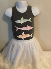 Girls Clothing, Old Navy Grey Tank Top With Price Tag $2.00 Skirt Size 6 $2.00