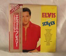 "ELVIS PRESLEY ~ ""ON SCREEN"" ~ RCA JAPAN ~ RPL-7501~02 / OBI ~2 LP ~ RARE Limited"