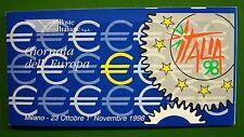 1998  Italia Giornata dell'Europa  6 x 800 lire  MNh**
