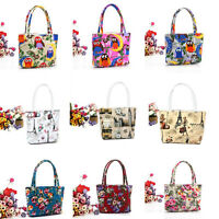 2016 Womens Handbag Portable Makeup Graffiti Cosmetic Wash Case colorful Bags