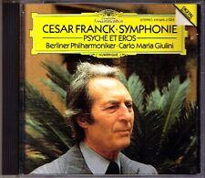 Carlo Maria GIULINI: FRANCK Symphony D minor Psyche CD Berliner Philharmoniker