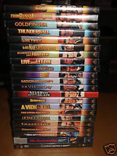 JAMES BOND SPECIAL EDITION - 22 DVD COLLECTION w/ ALL RARE EXTRA FEATURES & DOCS