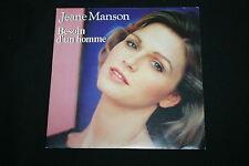 """JEANE MANSON   SP 45T 7""""   BESOIN D'UN HOMME   1983"""