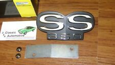 SS350 Grill Emblem 67-68 RS Camaro *In Stock* 67-Std *GM Restoration Part*