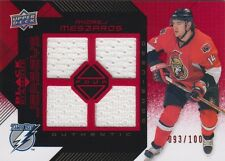 08-09 Black Diamond RUBY JERSEY xx/100 Made! Andrej MESZAROS - Senators