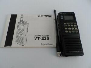 yupiteru vt-225 airband receiver