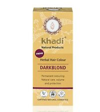 Khadi Natural Hair Colours Dark Blonde 100g
